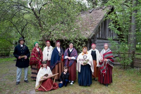 Folkloras kopas Laipa foto