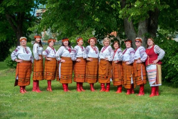 Ventspils ukraiņu dziesmu ansamblis Mrija