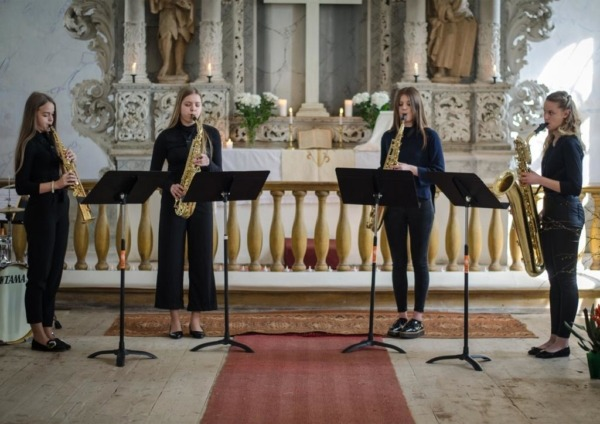 Ventspils Saksofonu kvarteta foto