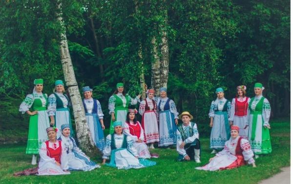Ventspils baltkrievu dziesmu ansamblis Žuravinka