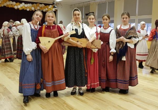 Ventspils krievu folkloras kopa Jurjev Denj