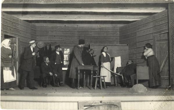 Ventspils teātris pirmssākumos